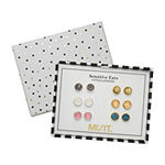 Mixit Hypoallergenic 6 Pair Earring Set