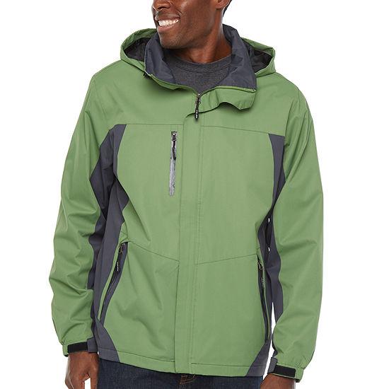 Victory Hooded Fleece Lined Rain Jacket