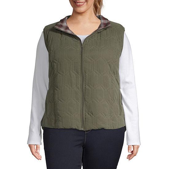 Supplies By Unionbay Puffer Vest-Plus