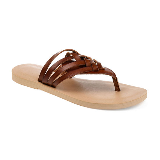 Journee Collection Womens Ameelya Flip-Flops