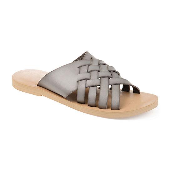 Journee Collection Womens Danni Slide Sandals