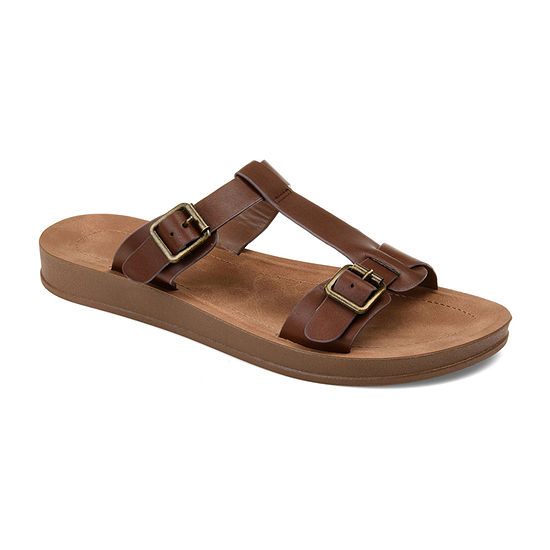 Journee Collection Womens Alice Slide Sandals