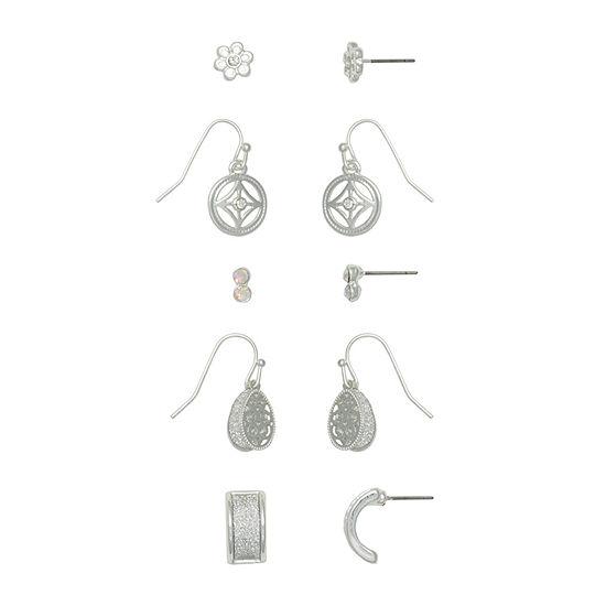 Mixit Hypoallergenic 5 Pair Earring Set