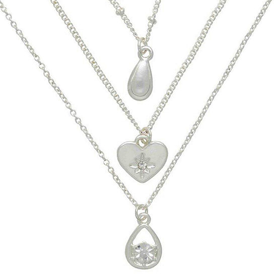 Mixit Hypoallergenic 3-pc. 18 Inch Necklace Set