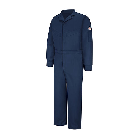 Bulwark Long Sleeve Workwear Coveralls-Big