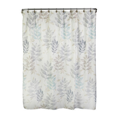 Saturday Knight Pencil Leaves Shower Curtain