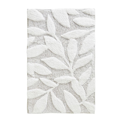 Saturday Knight Pencil Leaves Bath Rug