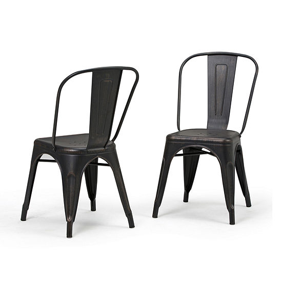 Simpli Home Fletcher 2-pc. Side Chair