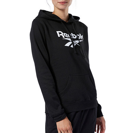 Reebok Womens Hooded Neck Long Sleeve Hoodie