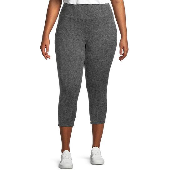 Stylus Plus Womens Mid Rise Capri Leggings