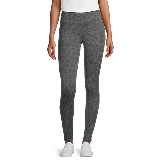 Stylus Womens Mid Rise Full Length Leggings