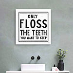 Only Floss Giclee Canvas Art