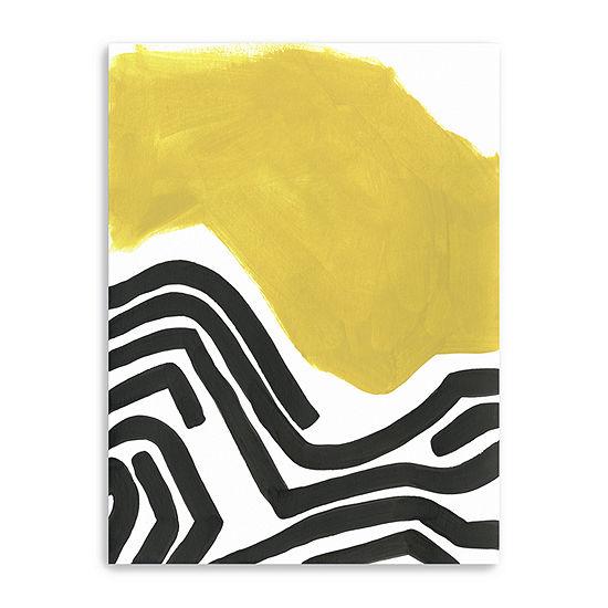 Color Block Maze I Giclee Canvas Art