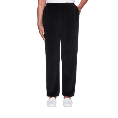 Alfred Dunner Modern Living Womens Straight Pull-On Pants
