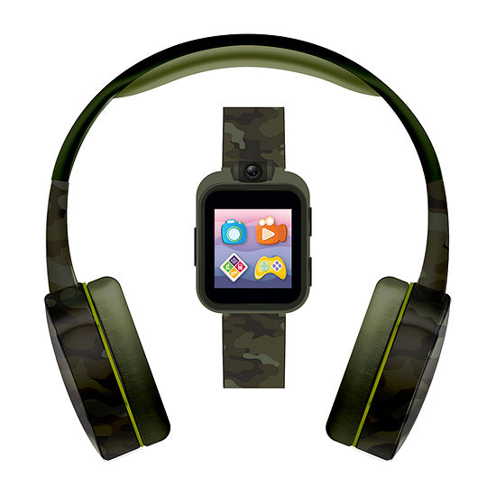 Itouch Playzoom Unisex Green Smart Watch-9196wh-51-X53