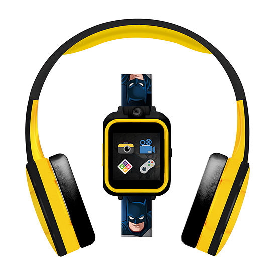 Itouch Playzoom DC Comics Unisex Black Smart Watch-900012wh-51-F01