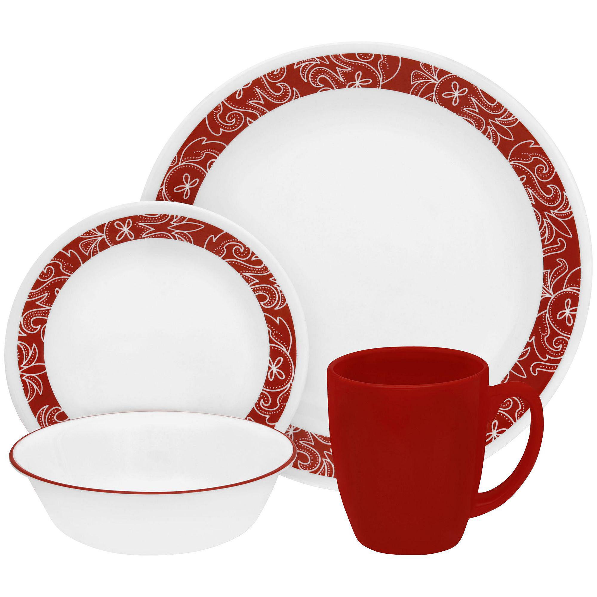 071160107427 Upc Corelle 174 Muret 16 Piece Dinnerware Set