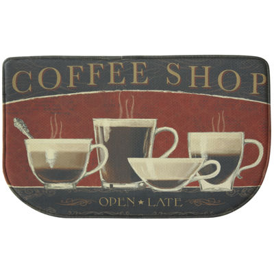 Bacova Coffee Shop Memory Foam Rug