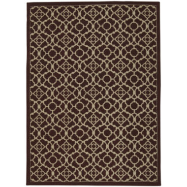 Waverly® Lovely Latice Jute Rectangular Rug
