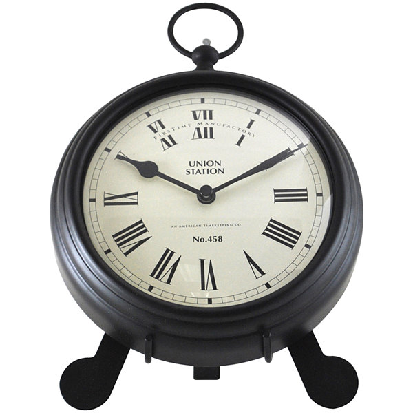 FirsTime® Station Pocket Watch Wall Clock