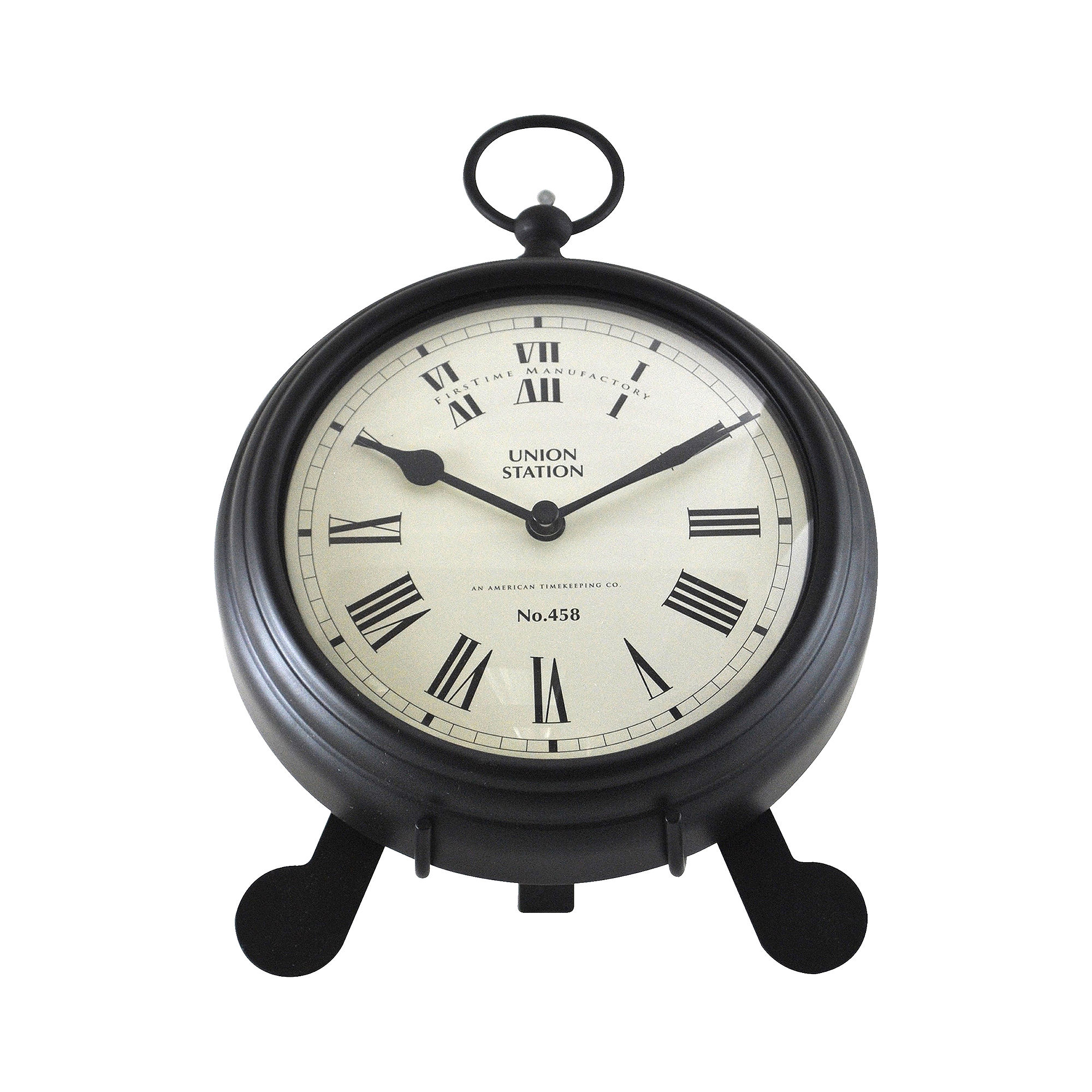 FirsTime Station Pocket Watch Wall Clock
