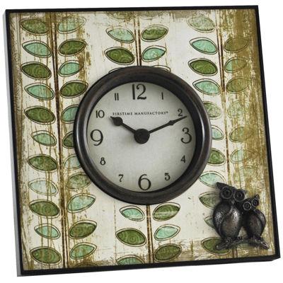 FirsTime® Hoot Tabletop Clock
