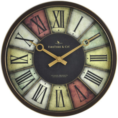 FirsTime® Prismatic Wall Clock