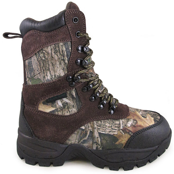 Smoky Mountain Kid's Sportsman True Timber Camo Hunting Boot with 800 grams Thinsulate