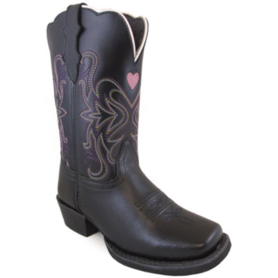 Smoky Mountain Kid's Rockin Heart Leather Cowboy Boot