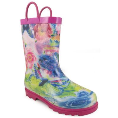 Smoky Mountain Kid's Audrey Rubber Rain Boot