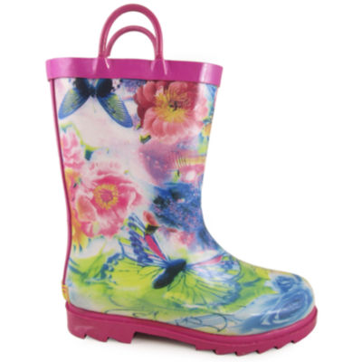 Smoky Mountain Kid's Audrey Rubber Rain Boot Toddler