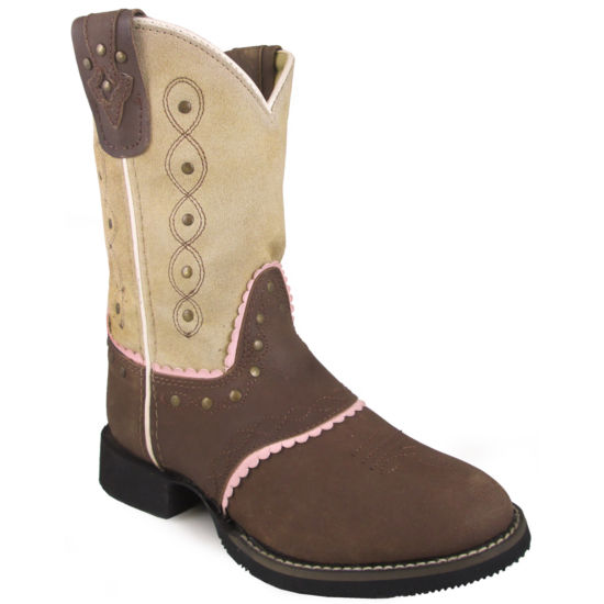 Smoky Mountain Girl's Ruby Belle Leather Cowboy Boot