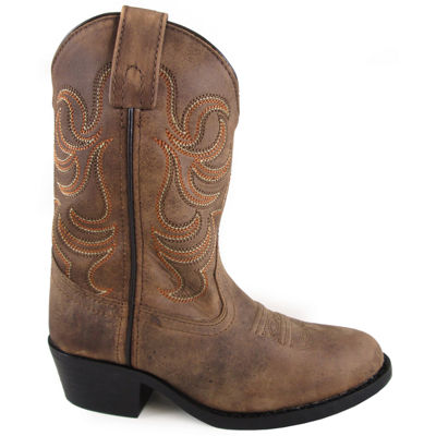 Smoky Mountain Kid's Otis Leather Cowboy Boot