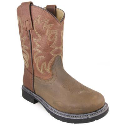 Smoky Mountain Unisex Kids Work Boots