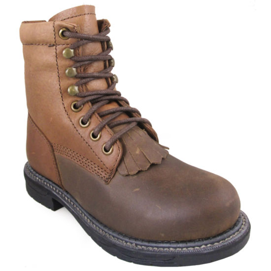 Smoky Mountain Unisex Kids Lace Up Work Boots