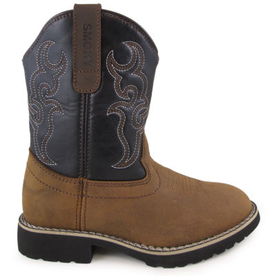 Smoky Mountain Kid's Randy Leather Cowboy Boot