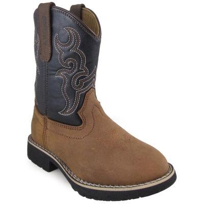 Smoky Mountain Kid's Randy Leather Cowboy Boot