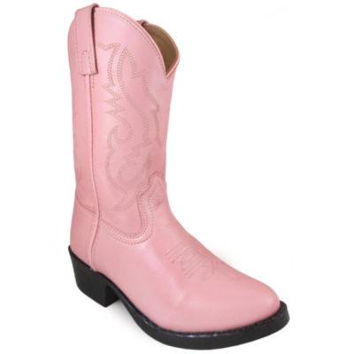 Smoky Mountain Girl's Denver Leather Cowboy Boot