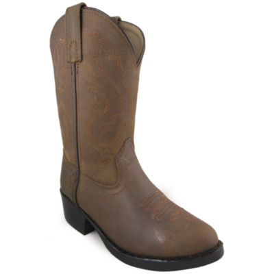 Smoky Mountain Kid's Denver Oiled Distress Leather Cowboy Boot