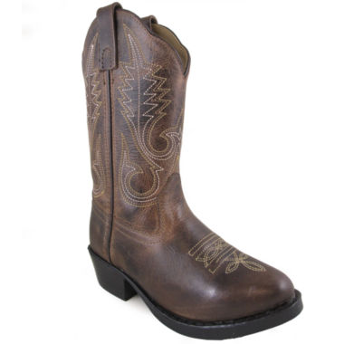 Smoky Mountain Kid's Annie Leather Cowboy Boot