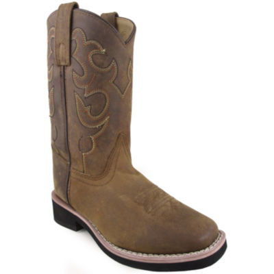 Smoky Mountain Kid's Pueblo Leather Cowboy Boot