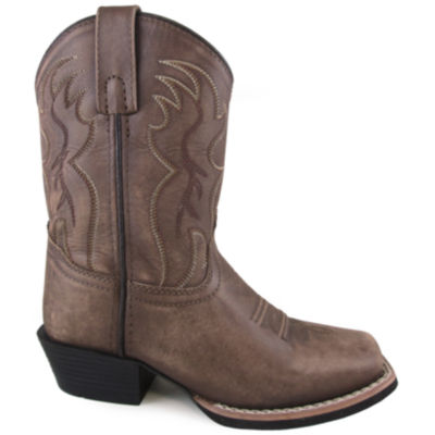 Smoky Mountain Kid's Gallup Vintage Leather Cowboy Boot
