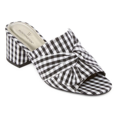 Worthington Freemont Womens Mules Slip-on Open Toe