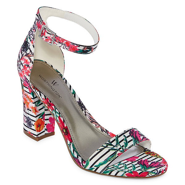 ff46c927b09d Worthington Beckwith Womens Heeled Sandals-JCPenney