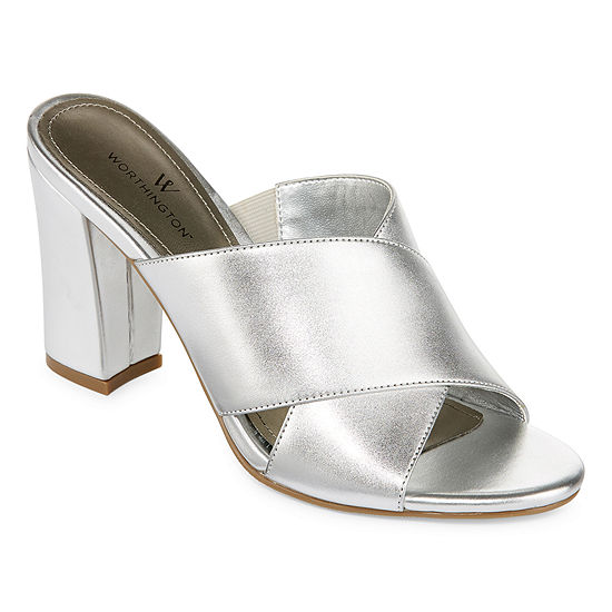Worthington Womens Birdie Mules Open Toe