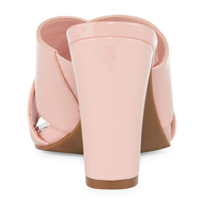 Worthington Womens Birdie Mules Slip-on Open Toe