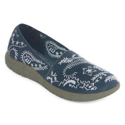 Yuu Womens Krishna Slip-On Shoe Closed Toe