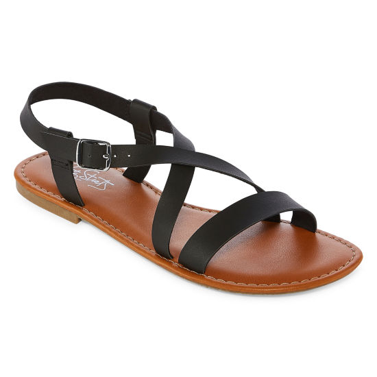 City Streets Antigua Womens Flat Sandals