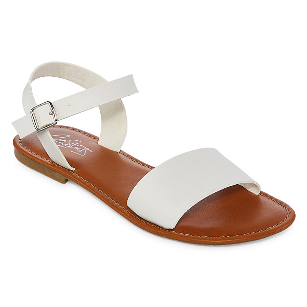 City Streets Aurora Womens Flat Sandals