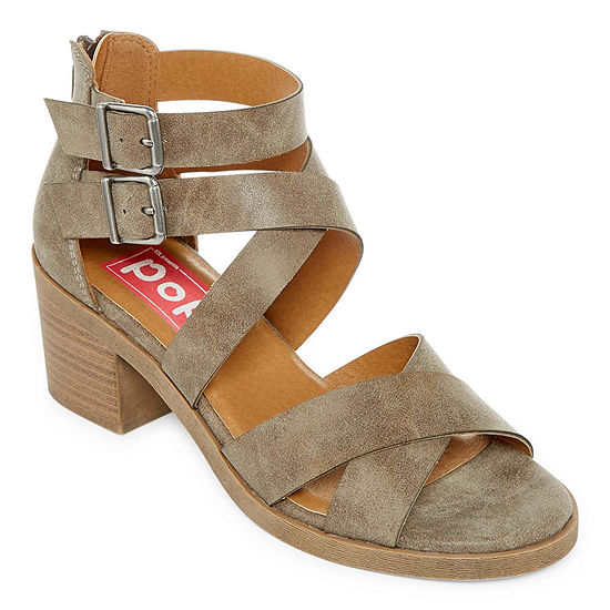 5fa84a7a95cd Pop Nicole Womens Wedge Sandals